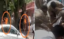 Cô gái đến cổng tòa án tự thiêu và livestream cảnh kinh hoàng trước nghìn người xem, lời tuyên bố trước lúc chết gây rúng động
