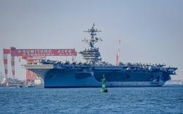 Sáu nhóm tàu tác chiến hải quân Mỹ, Anh, Ấn Độ, Nhật, Úc tiến về Thái Bình Dương
