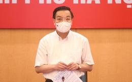 Chủ tịch Hà Nội yêu cầu dập tắt nhanh nhất các ổ dịch mới, không để lan rộng ra cộng đồng