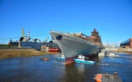 """Tướng Shoigu: """"Siêu chiến hạm"""" mang loạt vũ khí cực mạnh sắp đến tay Hải quân Nga!"""