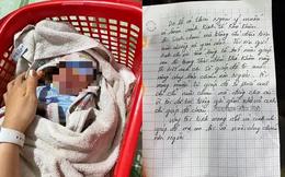 Bé trai 1 ngày tuổi còn nguyên dây rốn bị bỏ lại cùng bức thư 'do lỡ có thai ngoài ý muốn'