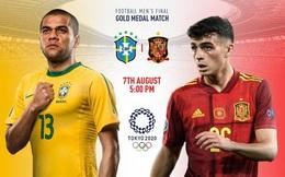 Chung kết Olympic Brazil vs Tây Ban Nha: Ngai vàng khó lật