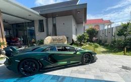 """Đại gia """"Vinh cái bang"""" - người vừa """"tậu"""" Lamborghini màu xanh độc nhất Việt Nam giàu cỡ nào?"""