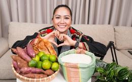 H'Hen Niê gây thích thú khi diện trang phục thổ cẩm, bán hàng online giữa mùa dịch