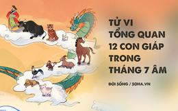 Tử vi tổng quan 12 con giáp trong tháng 7 âm: 4 con giáp cần thận trọng vì có hung tinh chiếu mạng