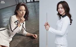 """Nhan sắc """"nữ thần billiards"""" Hàn Quốc xinh đẹp không kém minh tinh"""