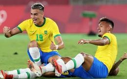Lão tướng Alves gục khóc sau khi cùng Olympic Brazil giành Huy chương Vàng Olympic