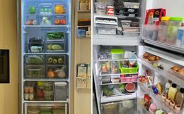 """Tiếp tục """"tới công chuyện"""" với những chiếc tủ lạnh sang - xịn - mịn trong mùa dịch: Vừa ngăn nắp lại còn """"healthy"""", 10 điểm về chỗ!"""