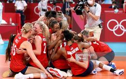 """TRỰC TIẾP OLYMPIC TOKYO (NGÀY CUỐI 8/8): """"Đè bẹp"""" tuyển bóng chuyền nữ Brazil, Mỹ cho Trung Quốc về nhì ở cuộc đua huy chương Olympic"""
