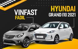 'Trọng pháo' Hyundai Grand i10 2021 giương nòng, VinFast Fadil còn vài vũ khí - vững như bàn thạch!
