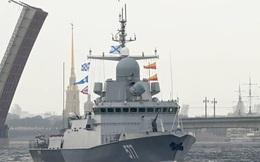 """Tàu chiến Nga khoe sức mạnh với tên lửa """"vượt mọi hệ thống phòng không"""""""
