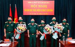 Công bố quyết định nhân sự Ban Tổ chức Trung ương, Bộ Quốc phòng