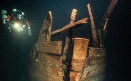 """""""UFO biển Baltic"""": Tàu ma hiện hình nguyên vẹn sau 4 thế kỷ"""