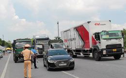 Hà Nội đề nghị Tổng cục Đường bộ hỗ trợ chống ùn tắc tại chốt kiểm dịch