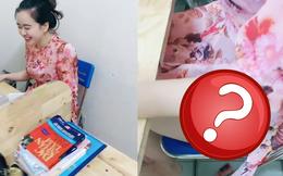 Cô giáo trẻ bật mí gu ăn mặc 'lạ' khi dạy online: trên áo dài thướt tha, dưới lại gây chú ý vì chiếc quần