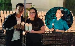 Con gái ruột đi chùa cầu nguyện cho Phi Nhung