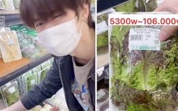 Bóc hết giá rau củ bán trong siêu thị Hàn Quốc, thanh niên Việt Nam chốt lại một câu: Sống ở đây rất khó giảm cân!