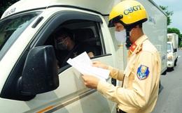 Hơn 200 doanh nghiệp vận tải Hà Nội bị từ chối cấp giấy đi đường