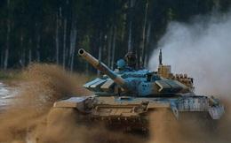 Nga điều hàng loạt xe tăng hiện đại nhất trực chiến sát biên giới Afghanistan