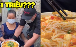 YouTuber xách tô đi mua 'bánh canh cua 1 triệu' đắt nhất Sài Gòn, lúc nhìn thành phẩm dân mạng liền phán ngay một câu