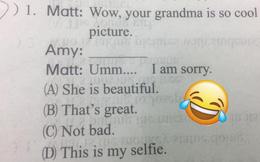 Đề Tiếng Anh siêu dễ, nhưng zoom kĩ mới phát hiện chi tiết tức cười, giáo viên thật khéo biết 'cà khịa' học trò quá!