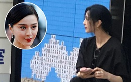 """Bức ảnh ngồi lề đường của Phạm Băng Băng gây bão mạng: Visual như tượng tạc, làn da trắng """"bật tông"""" gây choáng"""
