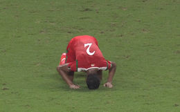 """HẾT GIỜ Nhật Bản 0-1 Oman: """"Kẻ lót đường"""" Oman gây sốc, khích lệ lớn cho Việt Nam đấu Saudi Arabia"""