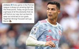 Ronaldo tuyên bố ngạo nghễ sau trận thắng West Ham