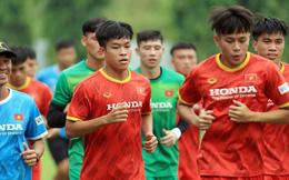 Đội tuyển U22 Việt Nam tập hồi phục chuẩn bị cho các bài test cuối cùng
