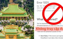 SỐC: Website của Đại Nam không truy cập được, tâm huyết cả đời của ông Dũng 'lò vôi' bay màu sạch sẽ khỏi Google?