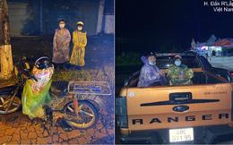 Dằn túi đúng 90k, đi 300km về chịu tang cha, 2 anh em xin qua chốt kiểm dịch và cuộc gặp bất ngờ trong đêm