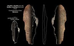 """Bất ngờ: Phát hiện xưởng """"thời trang"""" có từ... 120.000 năm trước"""