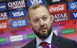 HLV futsal Nga nói gì trước cuộc đọ sức với Việt Nam ở World Cup?