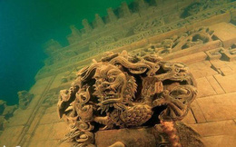 Các nhà khảo cổ kinh ngạc trước 'Thành phố Sư tử' 1.000 năm tuổi dưới đáy hồ ở Trung Quốc: Nền văn minh bị lãng quên sau trận đại hồng thủy