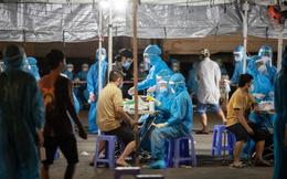 Phong tỏa chợ ở Hà Nội, nơi có F0 đến mua hàng. Ngày 22/9, Việt Nam có 11.527 ca mắc mới, 236 ca tử vong