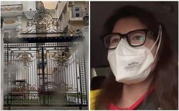 """Trang Khàn tung clip quay trộm biệt thự của bà Phương Hằng, dân mạng phản ứng dữ dội: Đang giãn cách mà ra đường """"rình"""" người khác?"""