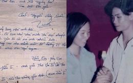 """Con gái khoe ảnh bố 20 năm trước, điển trai lãng tử cùng lá thư tay tán gái khiến thanh niên ngày nay phải """"chạy dài theo học"""""""