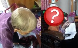 Cháu gái trổ tài cắt tóc tại gia cho bà, xem thành phẩm mà cả nhà chỉ biết nín lặng
