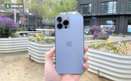 """Trên tay iPhone 13 Pro Max màu xanh """"hot"""" nhất năm nay"""
