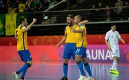 """Sớm thủng lưới, Brazil vẫn ngược dòng hạ Nhật Bản bằng """"cơn mưa"""" bàn thắng ở World Cup"""