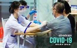 Hà Nội thêm 4 ca Covid-19, 1 ca trong cộng đồng ở quận Hai Bà Trưng. TP.HCM chính thức rút ngắn khoảng cách 2 mũi vắc xin AstraZeneca còn 6 tuần