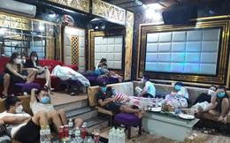 53 nam nữ tụ tập chơi ma túy trong quán karaoke ở Quảng Nam