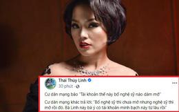 """Dân mạng """"đố nghệ sĩ dám mở tài khoản minh bạch để làm từ thiện"""", Thái Thùy Linh đã đáp trả mạnh mẽ như thế nào?"""