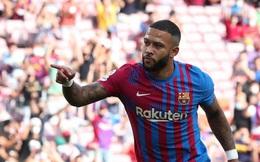 Memphis Depay tỏa sáng, Barca thắng đậm Levante