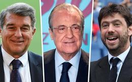 UEFA hủy bỏ án phạt Real, Barca và Juventus liên quan Super League