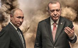 """Thổ Nhĩ Kỳ xin Nga """"giơ cao đánh khẽ"""": Câu trả lời của TT Putin khiến Ankara điếng người!"""