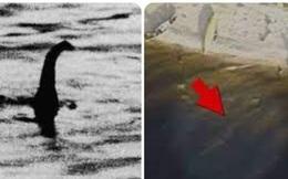 Tranh cãi về quái vật hồ Loch Ness trong hình ảnh lạ chụp từ trên cao