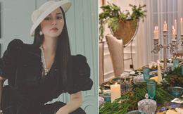 Nữ đại gia Hà Nội - bạn thân Vũ Khắc Tiệp: Không gian sống xa hoa như cung điện, mỗi lần soạn đồ hiệu là kín cả góc nhà