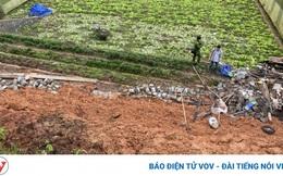 Sập taluy ở Đà Lạt khiến 2 người chết, 2 người bị thương