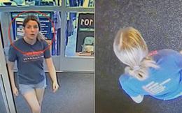 Cô gái ném balo vào thùng rác rồi ung dung đi vào cửa hàng, nhân viên thấy lạ thử mở ra xem liền hốt hoảng báo cảnh sát